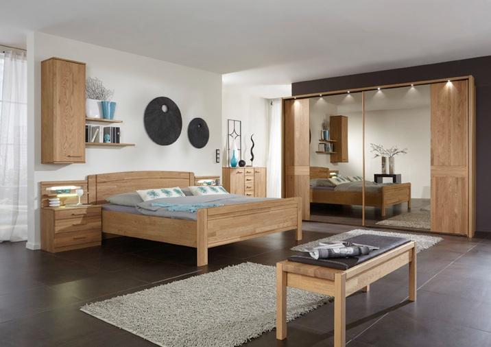 Star Mobel Mobel Outlet Munster Schlafzimmer Set In Eiche Massiv